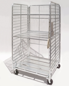 Picture of 3-Sided Folding Nursery Cart