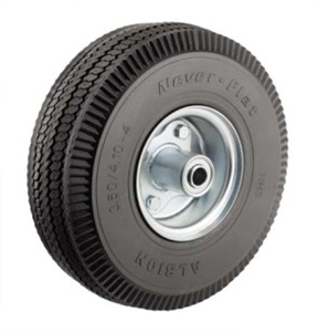 "Picture of 10""x 4"" Non Flat Hand Truck Air Tire"