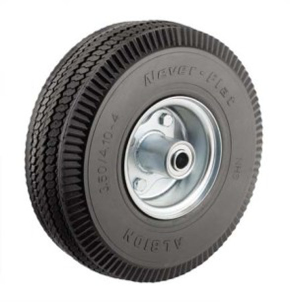 """Picture of 10""""x 4"""" Non Flat Hand Truck Air Tire"""