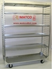 """Picture of 2-Sided Removable  Shelf Nursery Cart Display Cart 59"""" Model"""