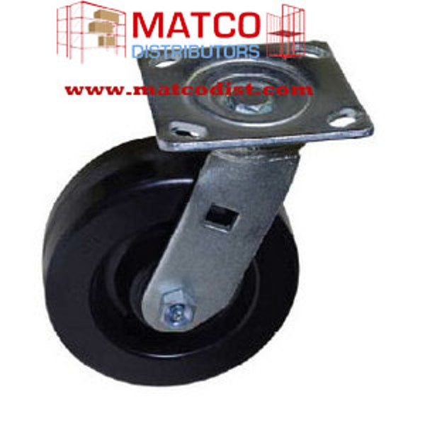"Picture of 6"" x 2"" Phenolic Swivel Caster"