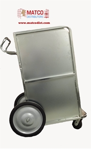 Picture of Newspaper Carrier Cart, With Casters