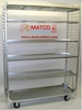 """Picture of 2-Sided Removable  Shelf Nursery Cart Display Cart 56"""" Model"""