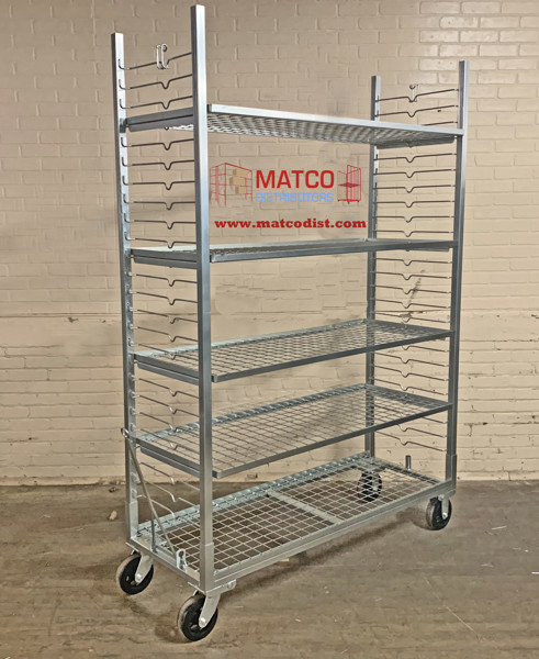 """Picture of Zinc Plated Plant Cart 56"""""""